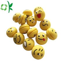 3DスフィアEmoji Tennis Dampeners Silicone Vibration Stopper