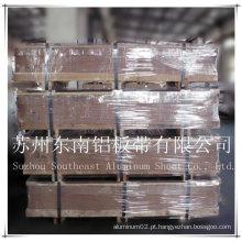Placa aeroespacial de alumínio 6061