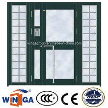 Special Biggest Size Exterior Security Steel Glass Door (W-GD-31)