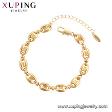 75784 Xuping Jewelry gold plated elegant luxury style Women fashion Bracelet