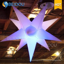 Factory Event Stage Party Décoration Cloud Jellyfish Lighted Inflatable Star