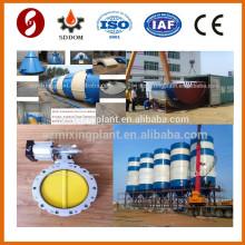 High Standard Stück Typ 200 Tonnen Zement Lager Silo zum Verkauf mit allen Zubehör