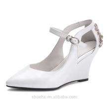 последний стиль обувь с rhinstone туфли на танкетке сандалии туфли