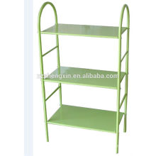 Three Tiers Steel Tube Shoe Rack Metal Frame for Home