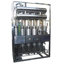Fabrication d'une distillerie à eau variée