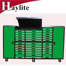 Gabinete de herramienta del metal del garaje de 33 cajones con los conjuntos de herramientas