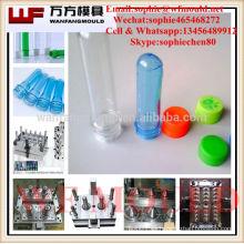 Proveedor de fábrica de moldes de China 5 galones 24 cavidades pin válvula PET molde de preforma con tapa