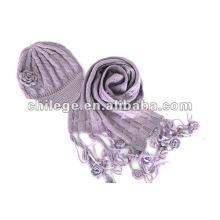 мода шерсть шапки,шарфы & перчатки наборы