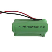 3.6V 1000mAh Nickel Metal Hydride Battery Pack, AA Size, for Radio Equipment, LED Light