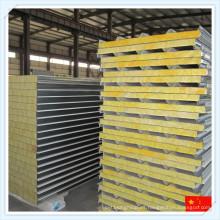 Panel de sándwich de lana de vidrio de alta calidad para techo