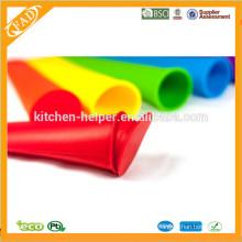 Molde colorido do popsicle do silicone / fabricante do PNF do gelo do silicone / moldes do silicone para o gelado