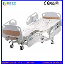 Krankenhaus-Bezirk verwenden elektrische fünf Funktions-justierbare medizinische Betten