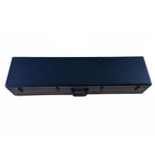 Caja de aluminio de aluminio con espuma y color negro
