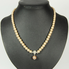 Borong Faux Pearl Necklace