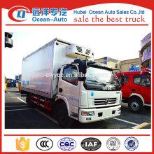 DFAC 4x2 4ton frigorífico congelador caminhão para transporte frutas e vegetais
