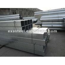 ASTM A53 galón cuadrado y tubo de acero rectangular / tubo