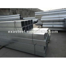 ASTM A53 Gal Square & Rectangular Steel Pipe / Tube