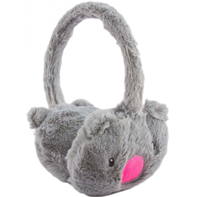 GIRLS ANIMAL EARMUFFS Grey