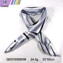 PLAIN COLOR SATIN SCARF