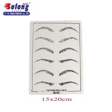 Solong Tattoo Wholesale Accessories for beginner eyebrow lip permanent tattoo Practice skin
