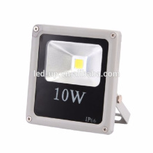 Ultra slim AC 85V-265V outdoor ip65 10w white cob flood led light lamp