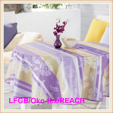 Oilproof Waterproof PVC Printed Table Cloth Factory in Rolls