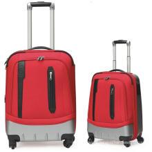 Saco da bagagem nylon ABS casos 2 saco de carrinho de bagagem conjunto por vocação viajar