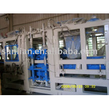 QFT12-15 Automatic brick making machine (with double hoppers, can produce color pavers)