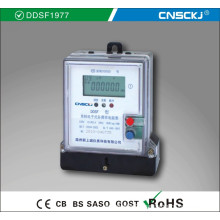 DDSF-2 Single-phase Electronic Carrier Multi-rate Watt-hour Meter
