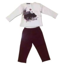 Moda desgaste do bebê ternos do esporte pijamas em roupas de noite crianças Sq-17111