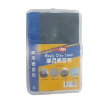 32*32 Easy to use Taiwan Blue Microfiber Clay Towel Clay Bar Towel Car Clay Towel Slip and Soft Touch