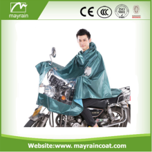 Adult Bicycle Raincoat Polyester Motorcycle Rain Poncho