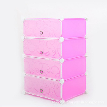 Printing DIY Plastic Folding Storage Armarios para casa (ZH0022)