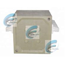 Leo Filter Press Membrane Filter Presione Membrane Squeezing Operation Placa de filtro de membrana