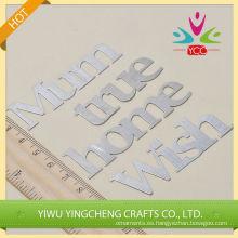 Manualidades pegatinas adhesivo de metal 2016 hilado decoración interior alibaba co Reino Unido chinas surtidor