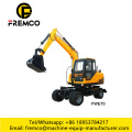 FWE70 Small Wheel Excavator 7.0 Tons