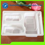 White Plastic Food Tray Plastic Blister Packaging