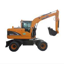 Rhion equipment excavator on wheels
