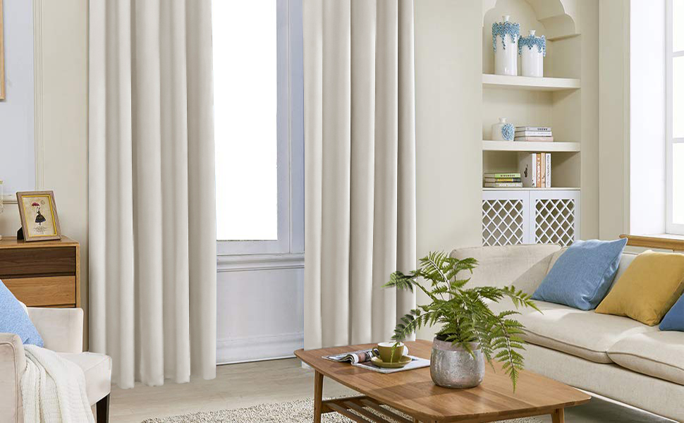 84 Inche Length Blackout Curtains