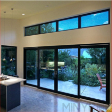Large Glass Double Glazed Aluminium Sliding Door