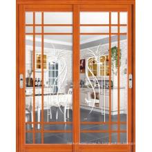 Hautes portes coulissantes en aluminium de bonne qualité