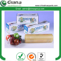 Eco-friendly food packaging PVC cling film