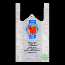 Vest Handle  Moisture Proof Plastic Bag