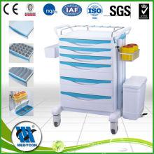 BDT8151 Hospital abs emergency medical trolley for sale