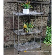 Powder Coating Metal Greenhouse Storage Wire Rack