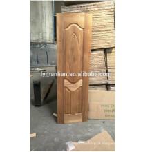China fornecedor escultura em madeira guarnição moldagem lowes barato porta da pele