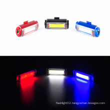 S630A 3W COB Rechargeable Bicycle Light with Li-ion Rechargeable Battery Warning Bike Light