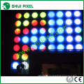 35mm square metal case waterproof 5050 smd RGB led pixel DMX ws2801 module