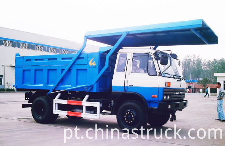 10Ton self-discharge garbage truck