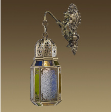 Moroccan Style Handcrafted Lantern (L19-1B)